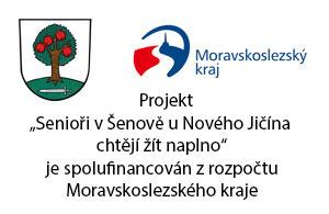 """Projekt """"Projekt senioři""""  je spolufinancován z rozpočtu Moravskoslezského kraje."""