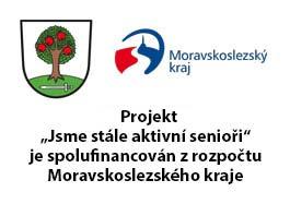"""Projekt """"Jsme stále aktivní senioři"""" je spolufinancován zrozpočtu Moravskoslezského kraje"""